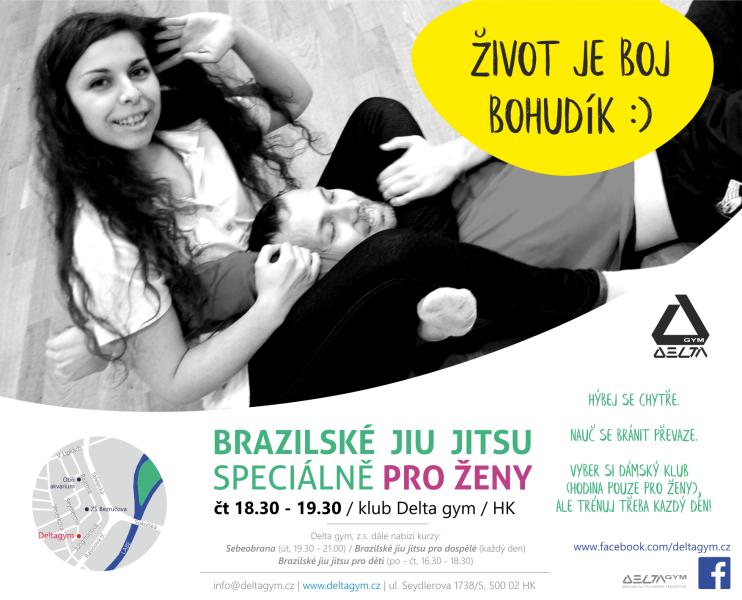 Brazilské jiu jitsu pro ženy 2020 - 2021